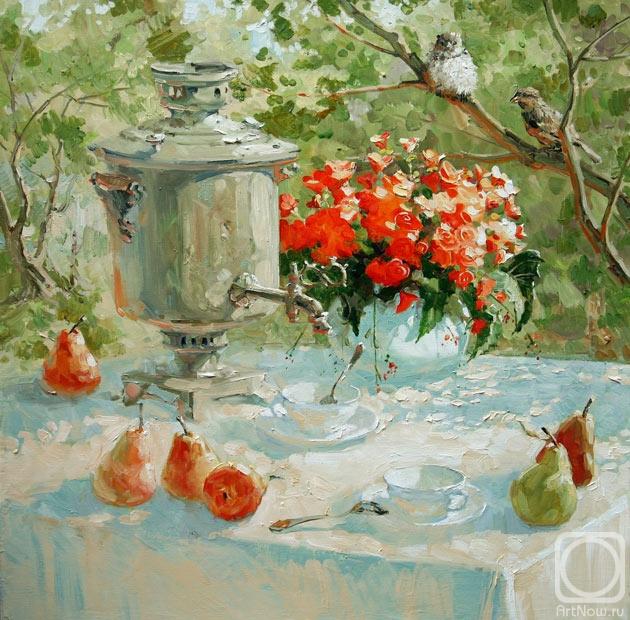 Павлова Мария. Чай для двоих (630x620, 313Kb)