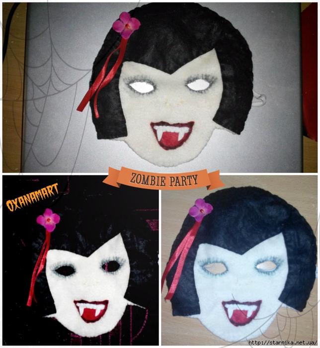 маска на хэллоуин (644x700, 298Kb)