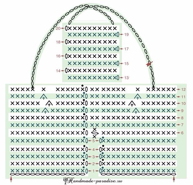 Вяжем крючком ушастых зайцев. Схемы и описание (12) (618x593, 381Kb)