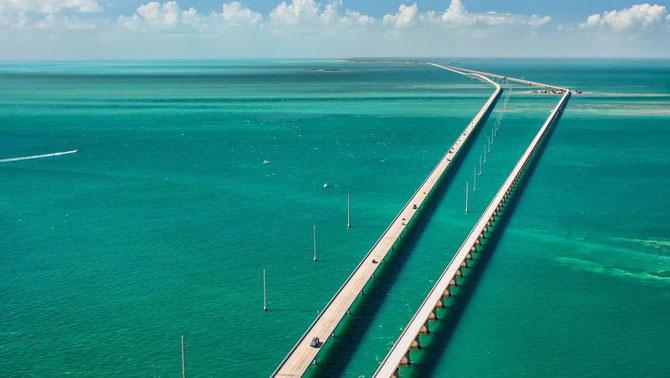 2. Overseas Highway во Флориде, США (670x378, 185Kb)