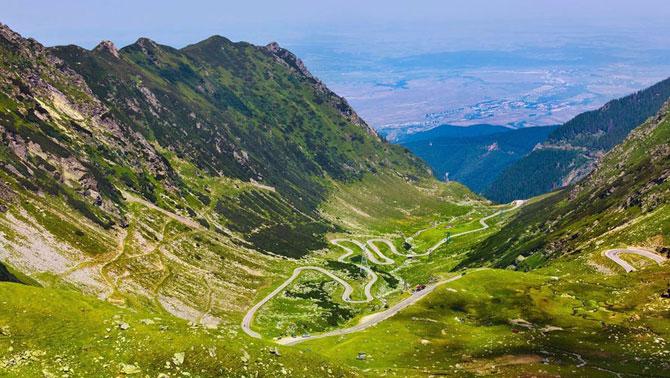 4. Дорога в небо, Трансальпина, Румыния (670x378, 321Kb)