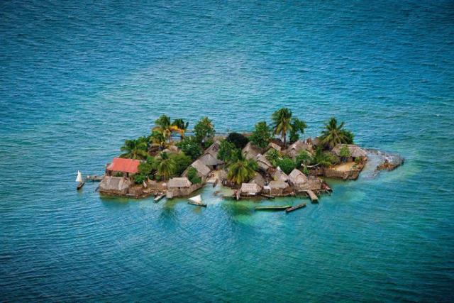 4. Острова Сан Блас, Панама. (640x427, 410Kb)