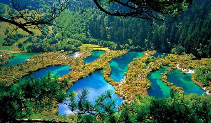озеро-Цзючжайгоу (700x408, 469Kb)