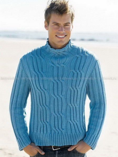 мужской пуловер (450x597, 105Kb)
