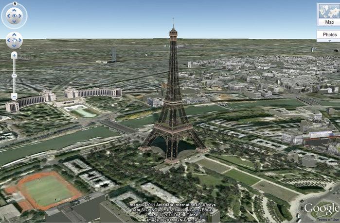 Трехмерные модели и панорамы Земли