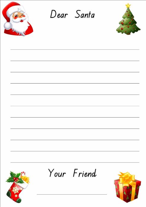 + Christmas Paper Templates - Free Word, PDF, JPEG