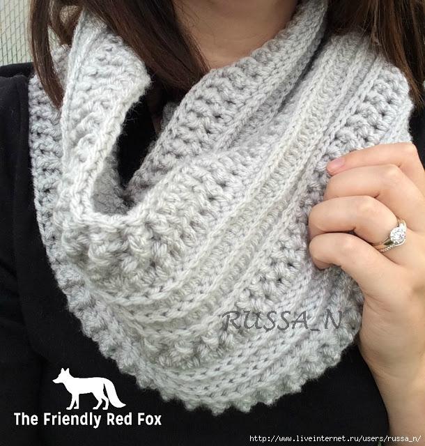 Ribs and Ridges Free Crochet Pattern (610x640, 268Kb)