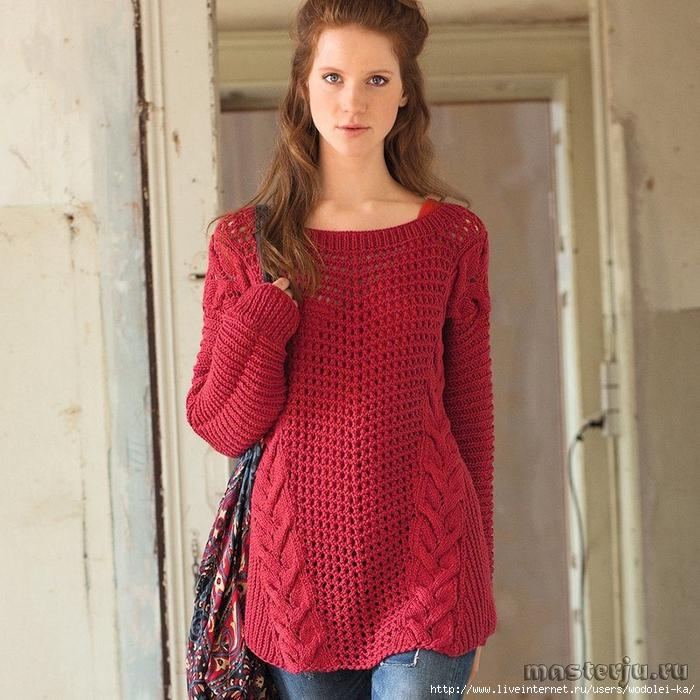 Вязанная женская одежда