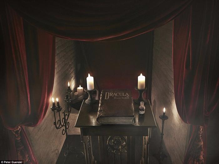 ночь в замке дракулы