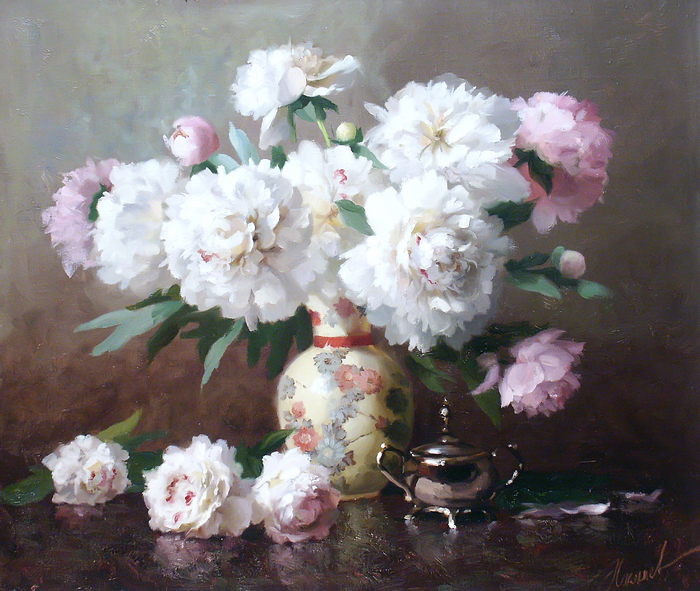 www.ArtsGallery.pro_Nikolaev_Yuriy_Belye_Piony_medium_241752 (700x591, 793Kb)