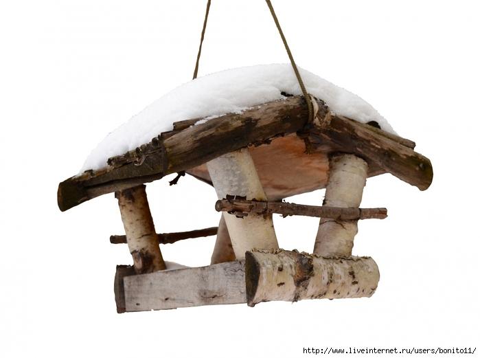 Кормушка для птиц деревянную