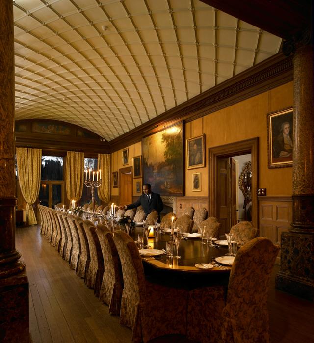 отель в шотландском замке Castle Leslie Estate 3 (640x700, 599Kb)