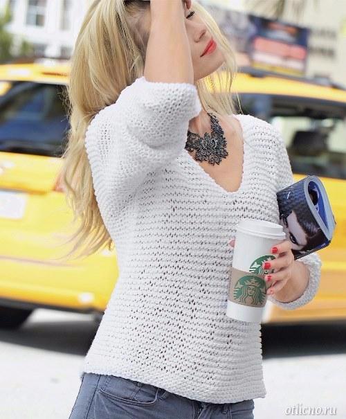 belyj-vyazanyj-pulover-2 (500x605, 222Kb)