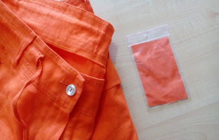 Зачем на одежде кусочки ткани