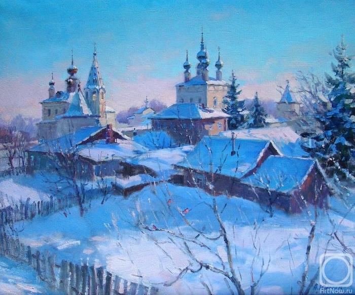 Зимний вечер (700x582, 347Kb)