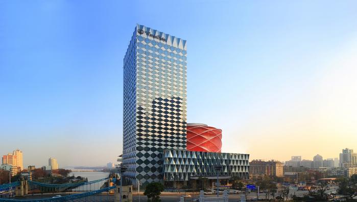 китайский отель Wanda Reign 1 (700x395, 219Kb)