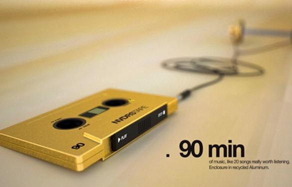 Самый ретро «кассетный» МР3 плеер в мире!