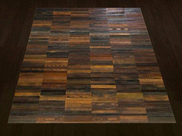 ковры из кожанных ремней 8 (624x467, 200Kb)