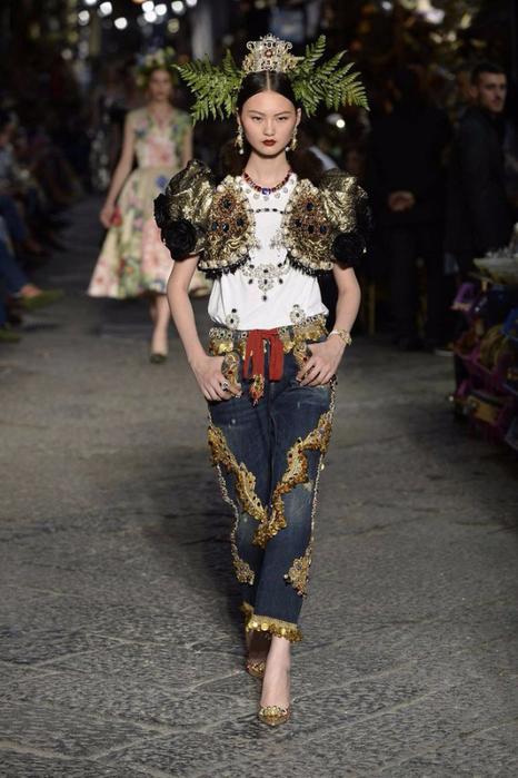 новая коллекция от кутюр Dolce & Gabbana 4 (466x700, 314Kb)