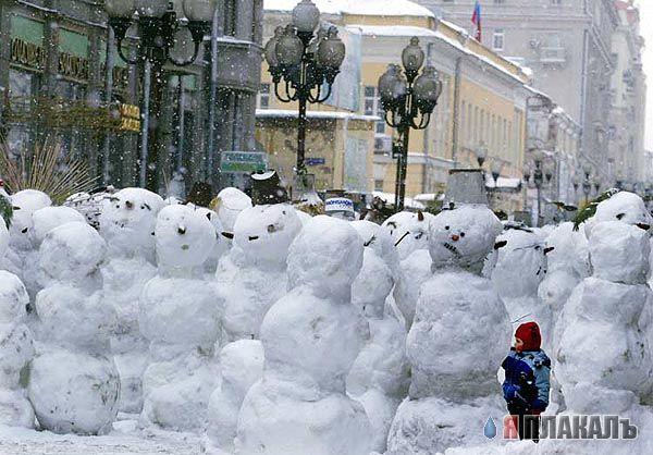 снеговики (600x418, 64Kb)