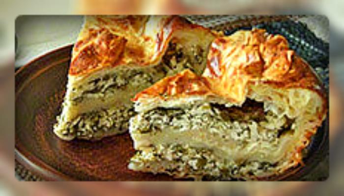 Пирог из лаваша с творогом и сыром (700x398, 294Kb)