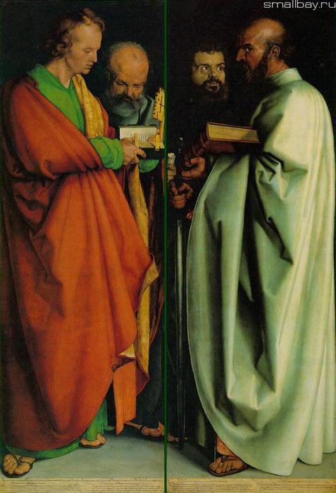 Четыре апостола. 1526, Старая пинакотека, Мюнхен (477x700, 126Kb)