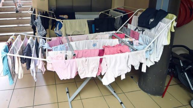 Почему нельзя сушить белье в комнате