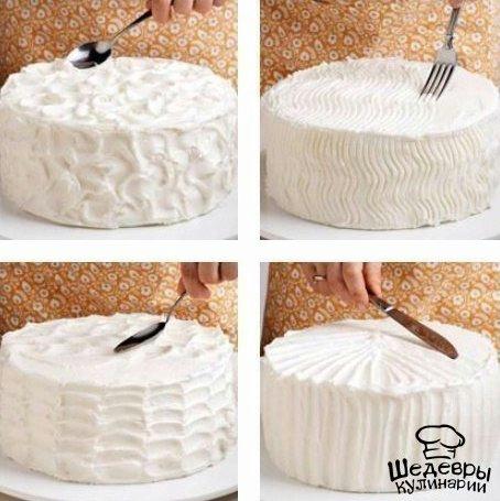 Идеи для украшения тортов своими руками