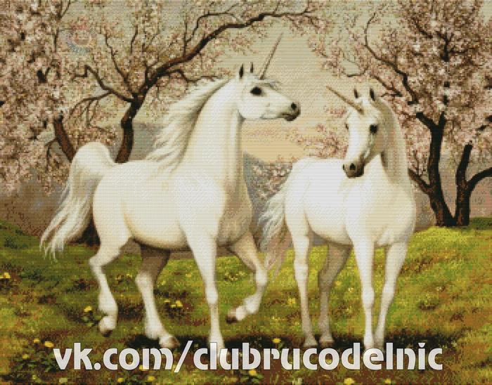 Unicorn Love (700x548, 576Kb)