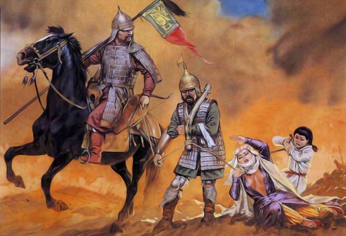 воины Тамерлана