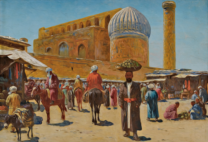 люди Древнего Самарканда