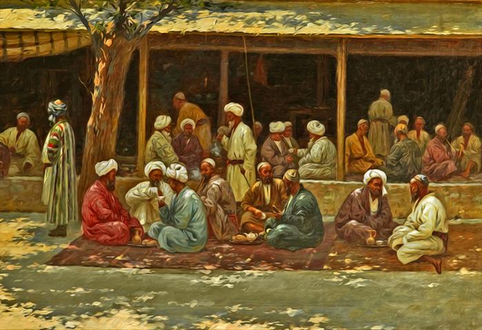 жители Древней Бухары