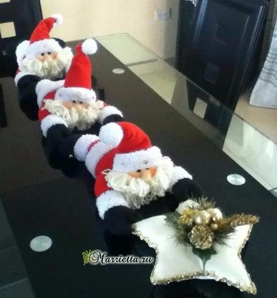 Шьем гирлянду из Санта Клаусов. Выкройки (1) (563x605, 242Kb)