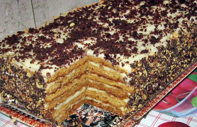Как в домашних условиях приготовить медовый торт в домашних условиях