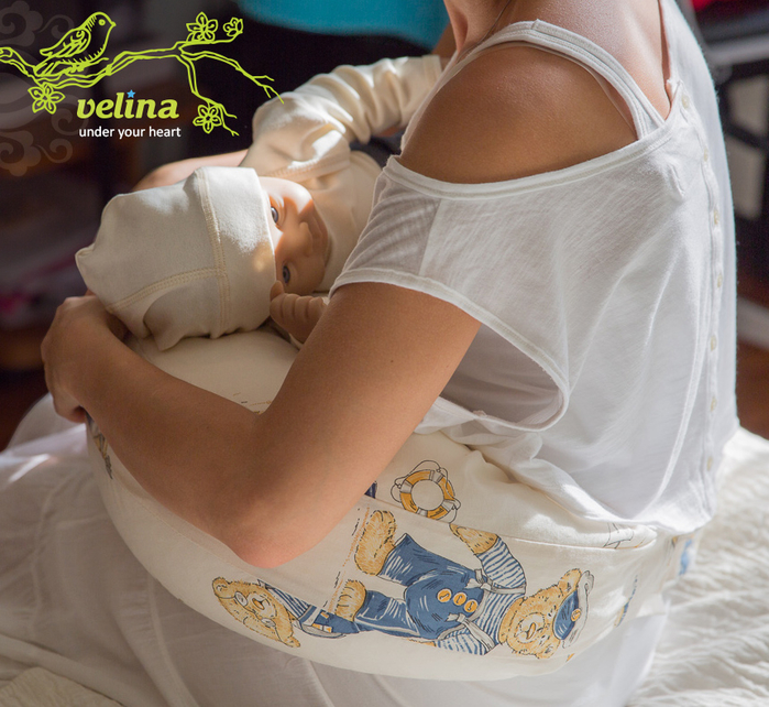 Подушка для беременных и кормления Velina (700x642, 466Kb)