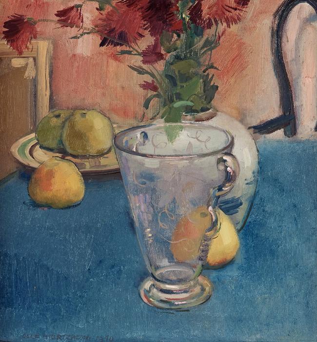 1940_Натюрморт с вазой и яблоками (Still life with vase and apples)_55 х 50_х.,м._Частное собрание (650x700, 586Kb)