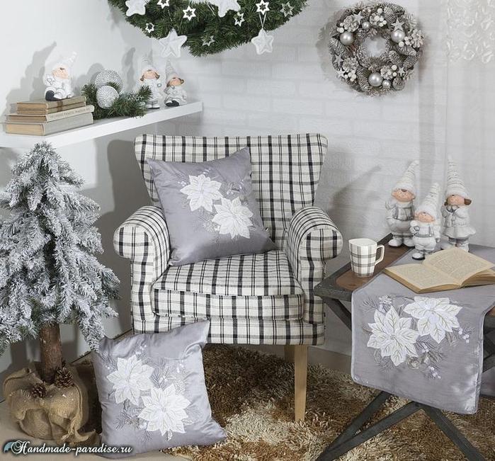 Рождественский дизайн интерьера. 20 фото (5) (700x651, 416Kb)