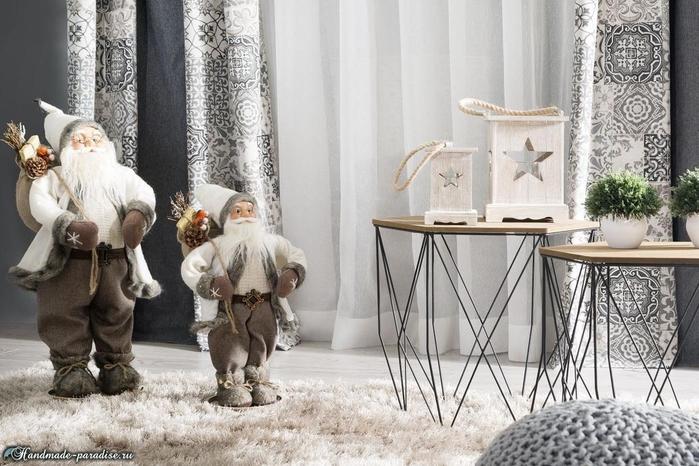 Рождественский дизайн интерьера. 20 фото (13) (700x466, 303Kb)