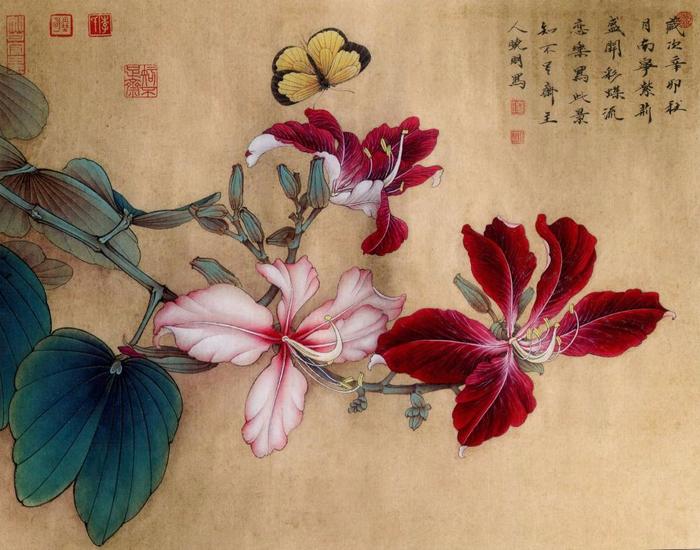 Стиль гунби китайская живопись гохуа
