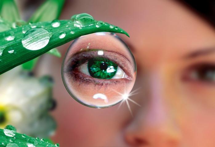 Очки с пластиковыми линзами портят зрение