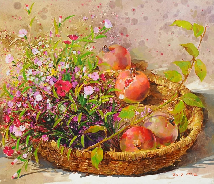 Художник из Кореи Yi Seong-bu17а (700x604, 581Kb)