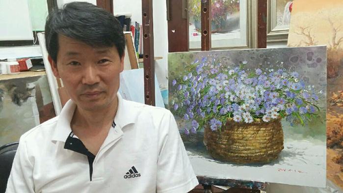 Художник из Кореи Yi Seong-bu20 (700x393, 299Kb)