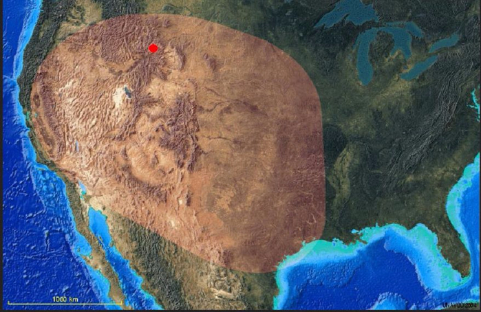 Йеллоустонский вулкан фото 1 (700x454, 378Kb)