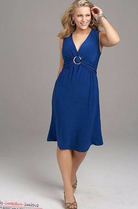 Летнее платье для полной женщины своими руками 22