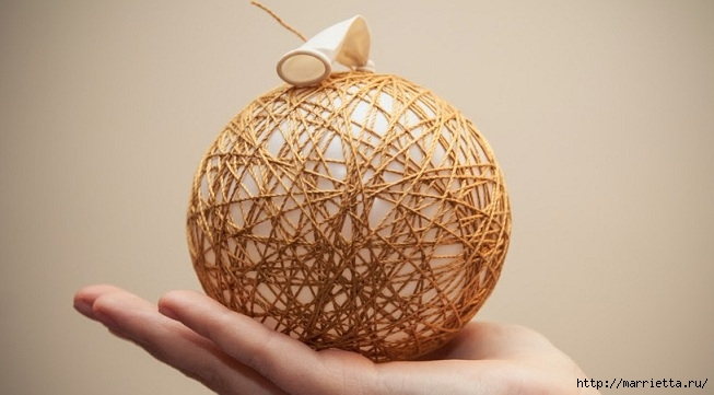 шар из ниток своими руками (2) (653x361, 120Kb)