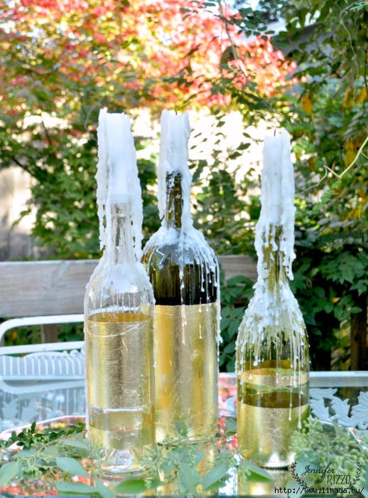 Gold-leaf-wine-bottles-and-drippy-candles-592x800 (518x700, 357Kb)