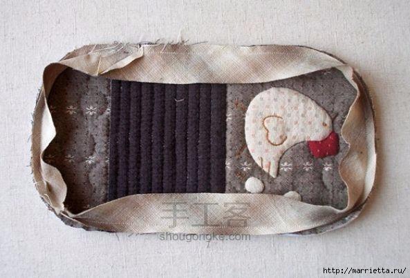 Шьем сами кошелек с курочкой. Фото мк (17) (593x403, 129Kb)