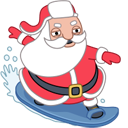 Santa Stickers/2493280_santasurfericon (128x128, 21Kb)