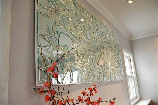 Bing Wright Broken MirrorEvening Sky  James Harris Gallery