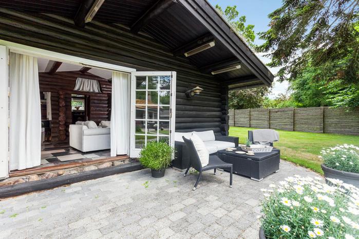 бревенчатый дом фото 4 (700x466, 449Kb)